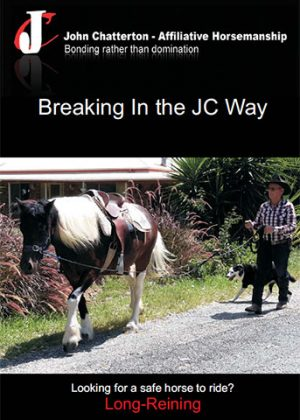 Breaking in horses the JC way